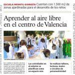 Aprender al aire libre en el centro de Valencia